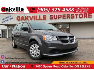 Used 2017 Dodge Grand Caravan CVP | 7 SEATS | LOW KMS | CRUISE for sale in Oakville, ON