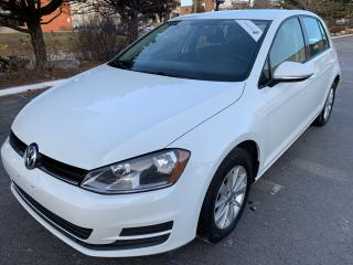 Used 2016 Volkswagen Golf Trendline ONE OWNER OFF LEASE for sale in Concord, ON