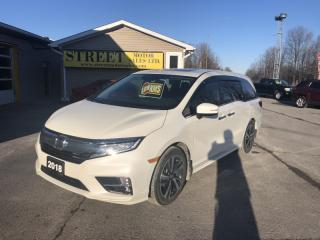 Used 2018 Honda Odyssey TOURING LEATHER NAV DVD ROOF for sale in Smiths Falls, ON