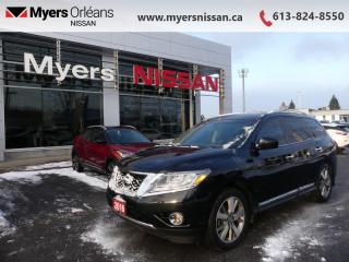 Used 2016 Nissan Pathfinder 4WD 4dr Platinum  - Aluminum Wheels - $158 B/W for sale in Orleans, ON