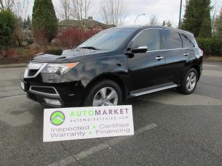 Used 2013 Acura MDX NAVI, DVD, LOADED AWD, INSP, BCAA MBSHP, WARRANTY, FINANCING! for sale in Surrey, BC