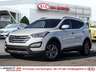Used 2016 Hyundai Santa Fe Sport LOW KM!!!! 1 OWNER, NO ACCIDENTS, LEATHER, NAVIGATION, HEATED WHEEL for sale in Burlington, ON