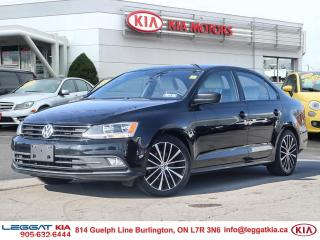 Used 2016 Volkswagen Jetta 1.8 TSI Comfortline, LEATHER, BACKUPCAM, SUNROOF, AIR CONDITIONING for sale in Burlington, ON