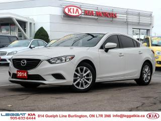 Used 2014 Mazda MAZDA6 GX AIR CONDITIONING, CRUISE, HEATED SEATS, POWER MIRRORS, BLUETOOTH for sale in Burlington, ON