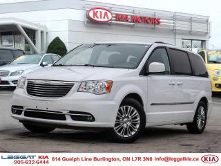 Used 2016 Chrysler Town & Country Touring-L ***STOW N' GO, BACKUP CAM, LEATHER, POWER DOORS/WINDOWS/MIRRORS*** for sale in Burlington, ON