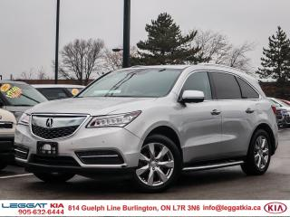 Used 2014 Acura MDX Elite Package BACKUPCAM, NAVIGATION, POWER WINDOWS/DOORS/SEATS/MIRRORS, LEATHER for sale in Burlington, ON