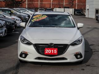 Used 2015 Mazda MAZDA3 GT, BACKUPCAM, NAVIGATION, CLOTH, SUNROOF for sale in Burlington, ON