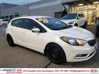 Used 2016 Kia Forte JUST TRADED! FORTE 5 LX+ WITH WINTER WHEELS, POWER DOORS/WINDOWS/MIRRORS for sale in Burlington, ON
