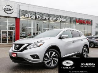Used 2015 Nissan Murano Platinum for sale in Richmond Hill, ON
