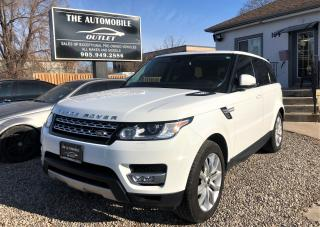 Used 2014 Land Rover Range Rover Sport HSE SPORT AWD LOADED NAVI CERTIFIED NO ACCIDENT for sale in Mississauga, ON