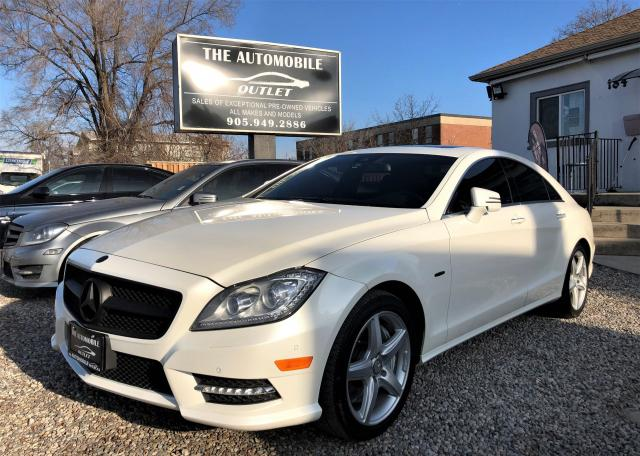 2012 Mercedes-Benz CLS550 AWD 4MATIC NAVI CERTIFIED LEATHER SUNROOF