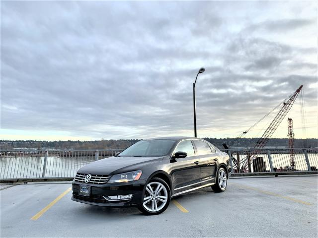 2012 Volkswagen Passat TDI DSG Highline - ONLY 87K - 1 OWNER