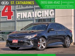 Used 2016 Kia Optima SXL Turbo | 360 Camera | Nappa Leather | NAVI for sale in St Catharines, ON