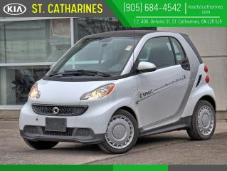 Used 2015 Smart fortwo Pure Coupe   NAVIGATION   HEATED SEAT for sale in St Catharines, ON