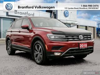 Used 2018 Volkswagen Tiguan Highline 2.0T 8sp at w/Tip 4M for sale in Brantford, ON