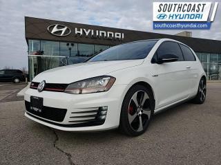 Used 2017 Volkswagen Golf GTI 5-Door Autobahn  - Navigation - $170 B/W for sale in Simcoe, ON