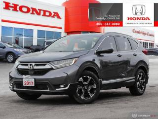 Used 2017 Honda CR-V Touring SATELLITE RADIO EQUIPPED | HEATED SEATS | APPLE CARPLAY™ & ANDROID AUTO™ CONNECTIVITY for sale in Cambridge, ON