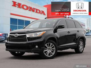 Used 2016 Toyota Highlander XLE POWER LIFTGATE | REARVIEW CAMERA WITH GUIDELINES | HEATED SEATS for sale in Cambridge, ON
