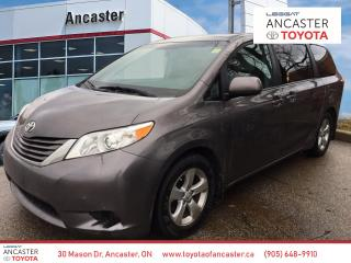 Used 2015 Toyota Sienna LE - 1 OWNER|BLUETOOTH|HEATED SEATS|BACKUP CAMERA for sale in Ancaster, ON