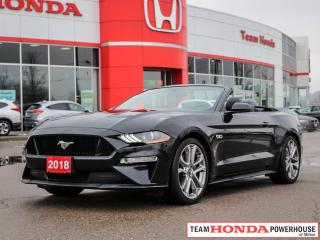 Used 2018 Ford Mustang GT Premium | Convertible | 460HP | Navigation | 5.0L V8 for sale in Milton, ON