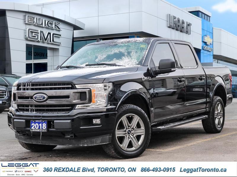 Used 2018 Ford F 150 Xlt Navigation Hard Tonneau Cover For