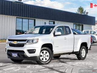 Used 2016 Chevrolet Colorado 2WD WT,LOW KMS,V6,R/V CAM,TOW PKG for sale in Orillia, ON