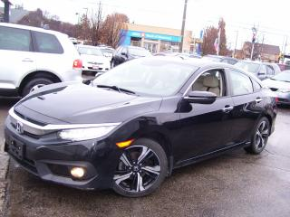 Used 2016 Honda Civic Touring,Fully Loaded,Certified,Leather,Sunroof,fog for sale in Kitchener, ON