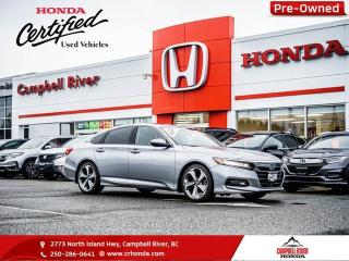 Used 2018 Honda Accord Sedan Touring 2.0 - Sunroof for sale in Campbell River, BC
