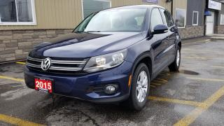 Used 2015 Volkswagen Tiguan DEMO UNIT, CALL FOR APPOINTMENT PLEASE for sale in Tilbury, ON