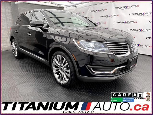 2016 Lincoln MKX Reserve+AWD+360 Camera+GPS+Cooled Seats+Pano Roof
