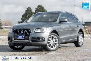 Used 2017 Audi Q5 2.0 Technik|AWD|1 Owner|Clean Carfax|Navi|Leather for sale in Bolton, ON