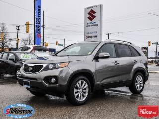 Used 2011 Kia Sorento EX AWD ~3.5L V6 ~Nav ~Leather ~Panoramic Moonroof for sale in Barrie, ON