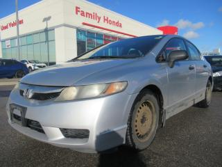 Used 2009 Honda Civic 4dr Man DX-G | GREAT VALUE!! | for sale in Brampton, ON