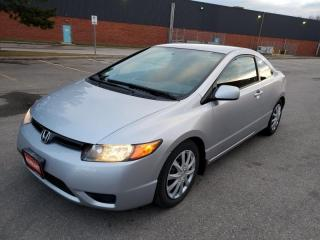 Used 2007 Honda Civic 2dr AT LX for sale in Mississauga, ON