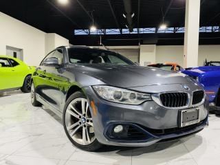 Used 2016 BMW 4 Series 428i Gran Coupe |XDRIVE|RED INTERRIOR|REAR HEATED SEATS|NAVIGATION! for sale in Brampton, ON