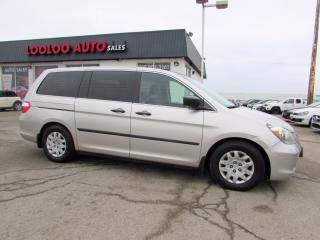 Used 2005 Honda Odyssey LX NO ACCIDENT AUTO CERTIFIED 2YR WARRANTY for sale in Milton, ON