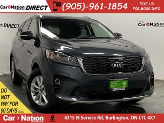 Used 2019 Kia Sorento EX| AWD| LEATHER| 7-PASSENGER| PUSH START| for sale in Burlington, ON