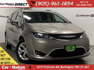 Used 2018 Chrysler Pacifica Touring-L Plus| PANO ROOF| DUAL DVD| LEATHER| for sale in Burlington, ON