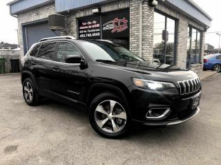 Used 2019 Jeep Cherokee LIMITED 4X4 V6 for sale in Longueuil, QC