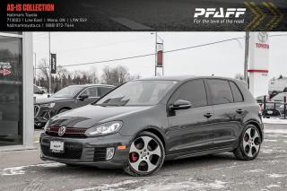 Used 2010 Volkswagen Golf GTI 5-Dr DSG tip for sale in Orangeville, ON