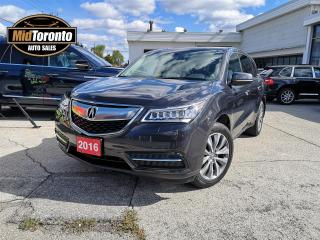 Used 2016 Acura MDX Technology | Navi| SH-AWD | One Owner | Excellent Condition for sale in North York, ON