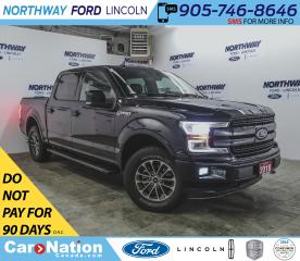 Used 2018 Ford F-150 Lariat | 2.7L ECOBOOST | NAV | LEATHER | PANO ROOF for sale in Brantford, ON