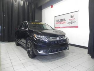 Used 2017 Honda CR-V TOURING AWD CUIR / GPS !! for sale in St-Eustache, QC