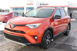 Used 2016 Toyota RAV4 SE CUIR TOIT OUVRANT NAVIGATION SIEGES CHAUFF for sale in St-Basile-le-Grand, QC