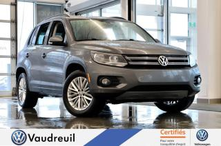 Used 2016 Volkswagen Tiguan Édition spéciale * TOIT PANO * NAV * for sale in Vaudreuil-Dorion, QC