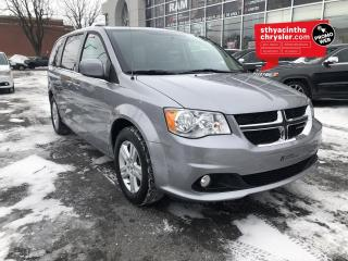 Used 2018 Dodge Grand Caravan Crew Plus / GPS / MAGS / CUIR for sale in St-Hyacinthe, QC