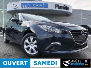 Used 2016 Mazda MAZDA3 GX AUTO CRUISE BLUETOOTH for sale in Mascouche, QC