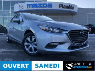Used 2017 Mazda MAZDA3 GX AUTO DEMARREUR AIR CRUISE BLUETOOTH for sale in Mascouche, QC