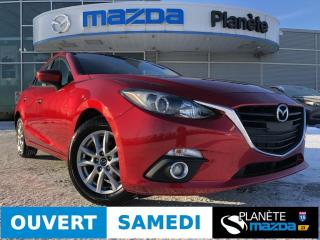 Used 2016 Mazda MAZDA3 GS TOIT CRUISE AIR MAGS FOG BLUETOOTH for sale in Mascouche, QC