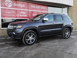 New 2020 Jeep Grand Cherokee Overland 4x4 / Panoramic Sunroof / GPS Navigation for sale in Edmonton, AB